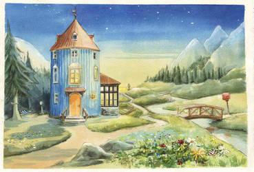Moominvalley by asiapasek