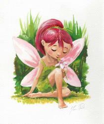 Pink Fairy by asiapasek