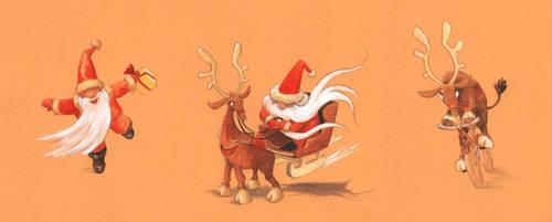 Santa's Delivery Options by asiapasek