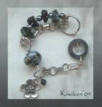 Glass and Steel - Bracelet by Kiwiken