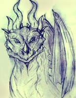 Dragon Head by Friendermen