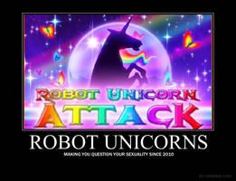 Robot Unicorns by XxBloodyButterflyxX
