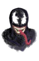 Venom Bust by Sharktoja