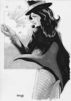 Zatanna Comic Con by kevinenhart