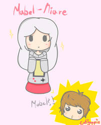 Mabel-Miare - (FanArt Pambisito) by Cati-Paint