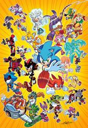 Sonic Universe by Ziggyfin