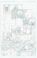 Sonic Archie Re-Draw (STH#263 Pg4) by Ziggyfin