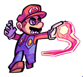 Mario by Ziggyfin