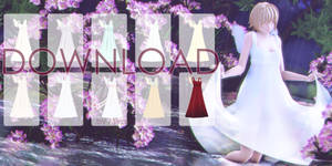 [MMD DOWNLOAD] Angel Dress by MIKAAAN