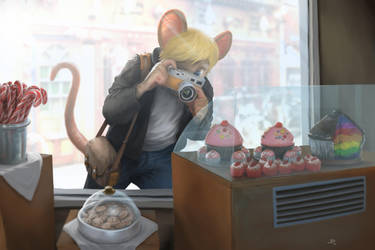 Greedy Mouse by PeppeTi