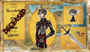 [ p ] ChroniclesOfThedas | Nicodeme | Application by Burscutum