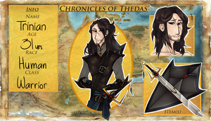 [ p ] ChroniclesOfThedas | Trinian | Application by Burscutum