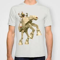 Gundam AT-AT t-shirt by Sheharzad-Arshad