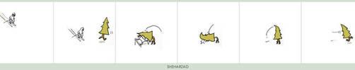Skii tree by Sheharzad-Arshad