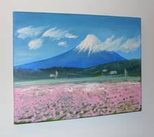 Mt Fuji by Sheharzad-Arshad