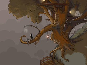 Treehouse by Sheharzad-Arshad