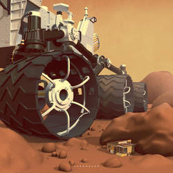 Mars Rover by Sheharzad-Arshad