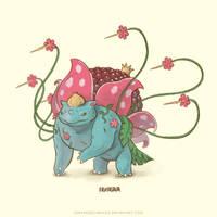 Bulbasaur Super Evolve by Sheharzad-Arshad