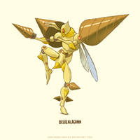 Beedrill Super Evolve by Sheharzad-Arshad