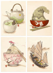 The Fine Art of Japanese Cuisine by Sheharzad-Arshad