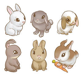 Bunnies by Sheharzad-Arshad