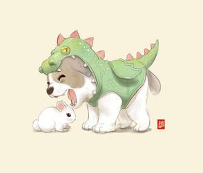 Dragon Puppy by Sheharzad-Arshad