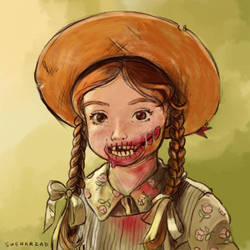 Zombie Anne of Green Gables by Sheharzad-Arshad
