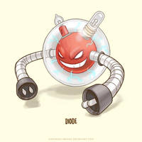 Voltorb Super Evolve by Sheharzad-Arshad