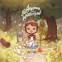 Aryanna in Wonderland by Sheharzad-Arshad