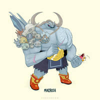 Machop Super Evolve by Sheharzad-Arshad