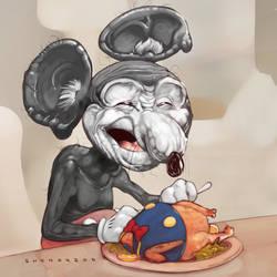 Mickey 90 by Sheharzad-Arshad