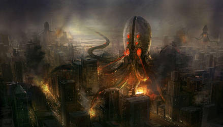 big octopus by wanbao