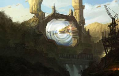 Stargate by wanbao