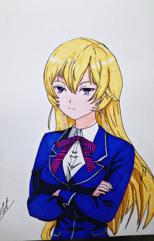 Erina Nakiri by Husky112