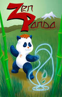 Zen Panda Graphic Novel by dragynsart