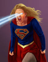 Supergirl fanart by dragynsart
