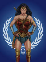 Wonder Woman United Nations by dragynsart