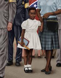 Ruby Bridges by dragynsart