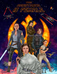 The Resistance is Female by dragynsart