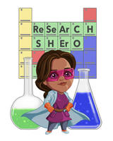 ReSeArCH SHErO by dragynsart