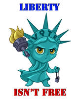 Lady Liberty by dragynsart
