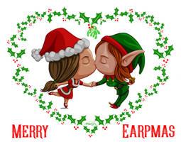 Wayhaught Christmas by dragynsart