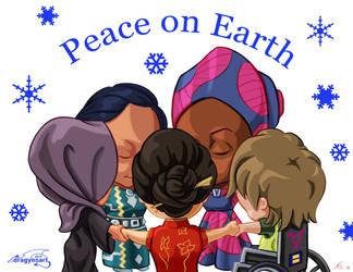 Peace On Earth by dragynsart