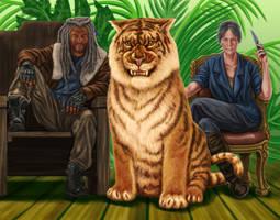 Carol, Ezekiel, Shiva by dragynsart