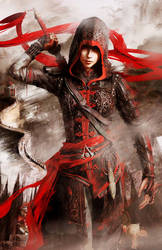 Assassin's Creed Chronicles China Shao Jun Poster by MatrixUnlimited