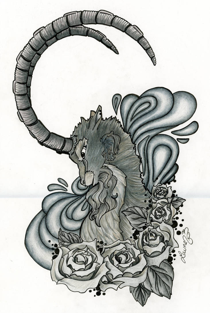The Long Horned Ram by charmie