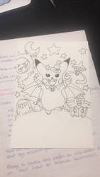 Pokemon Halloween  by charmie