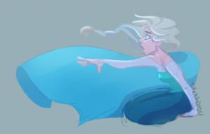 Elsa sketch by sketchbagel