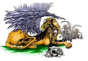 The Sphinx by kairelld