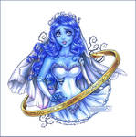 the Corpse Bride: Emily by daekazu
